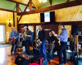 cayuga blue notes band stever hill vineyards