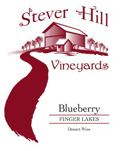 stever hill blueberry label