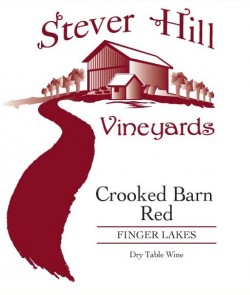 stever hill crooked barn red label