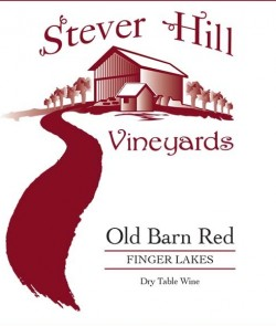 stever hill old barn red label