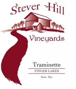 stever hill traminette semi dry label