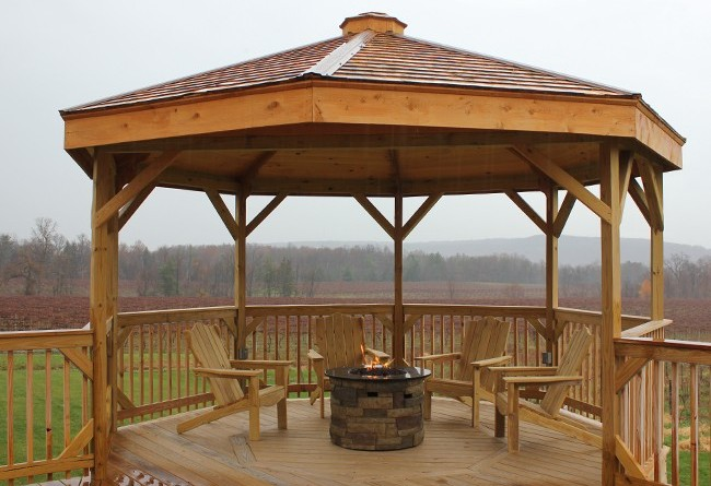 stever hill vineyards gazebo complete