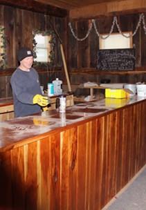 Stever Hill Vineyards Tasting Room History