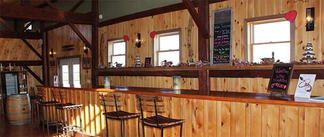 stever hill vineyards tasting room